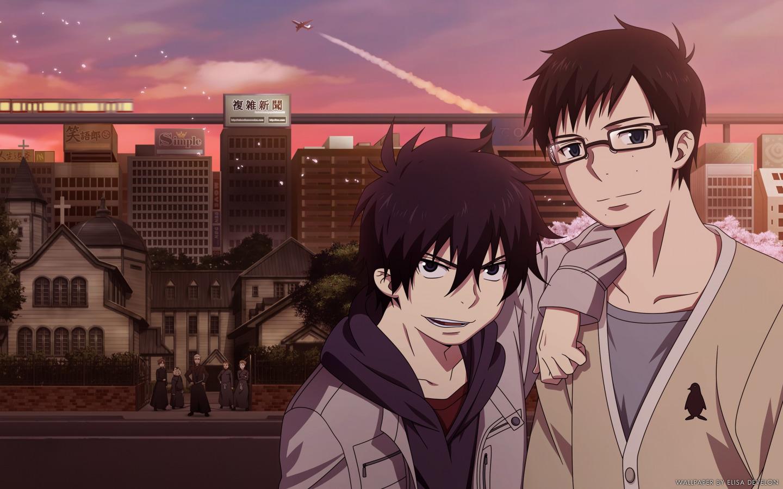 Download Wallpaper Anime Art Ao No Exorcist Rin Yukio Okumura