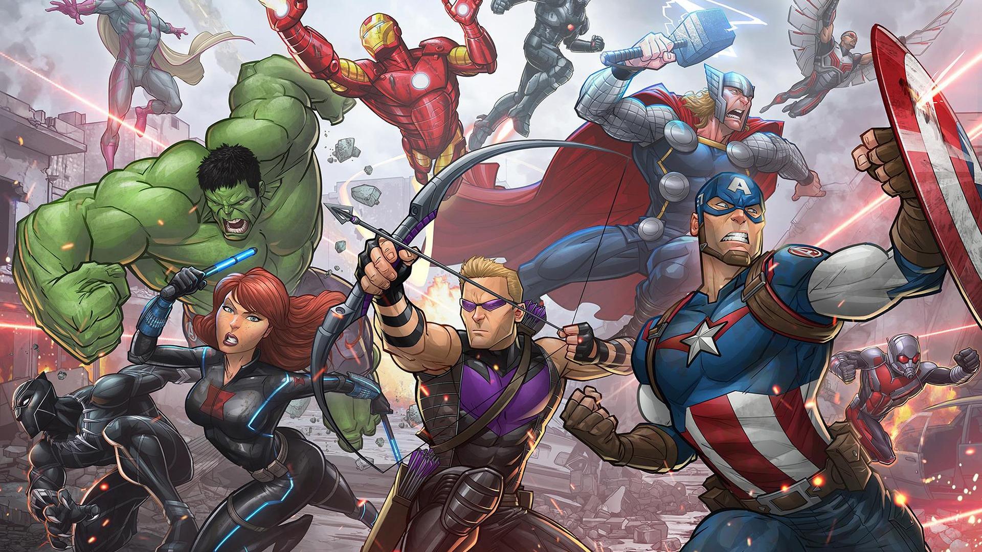 Patrick Brown Avengers