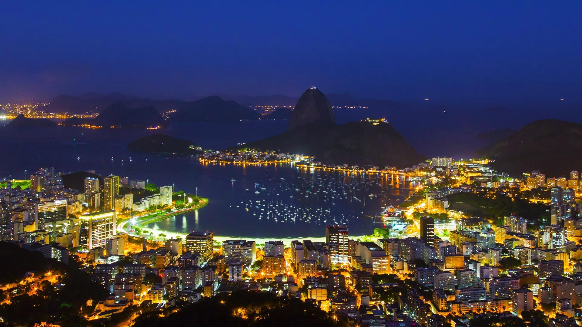 Сверкающий Рио-Де-Жанейро  № 1457414 без смс