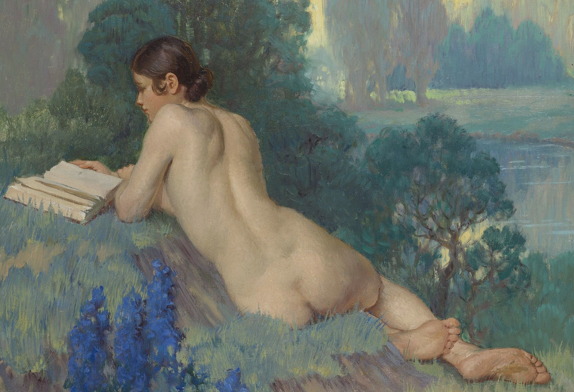 In conversation with blanca schofield legorburo, the artist behind eve taking a nude