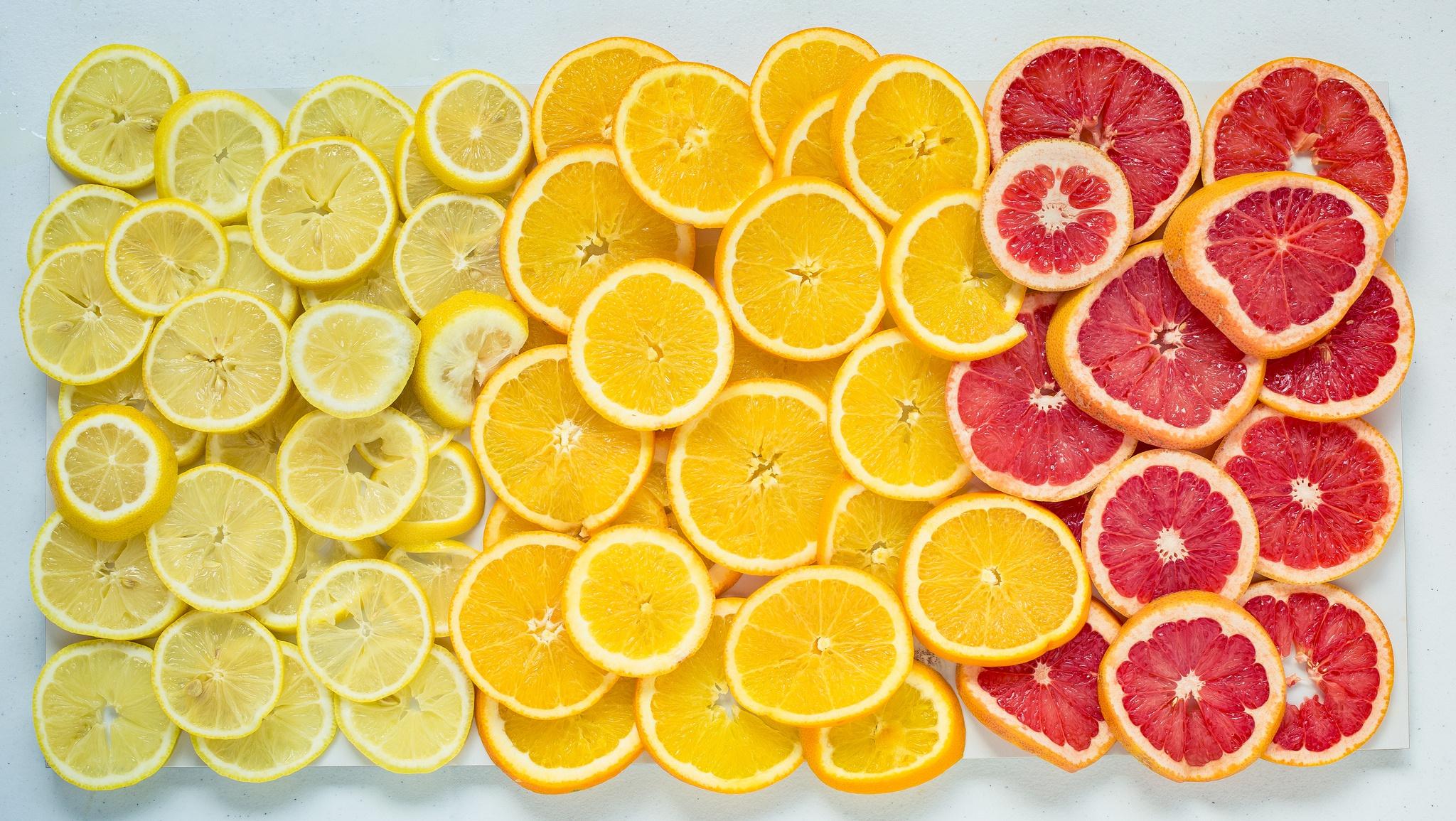 дольки грейпфрута  № 2133949 бесплатно