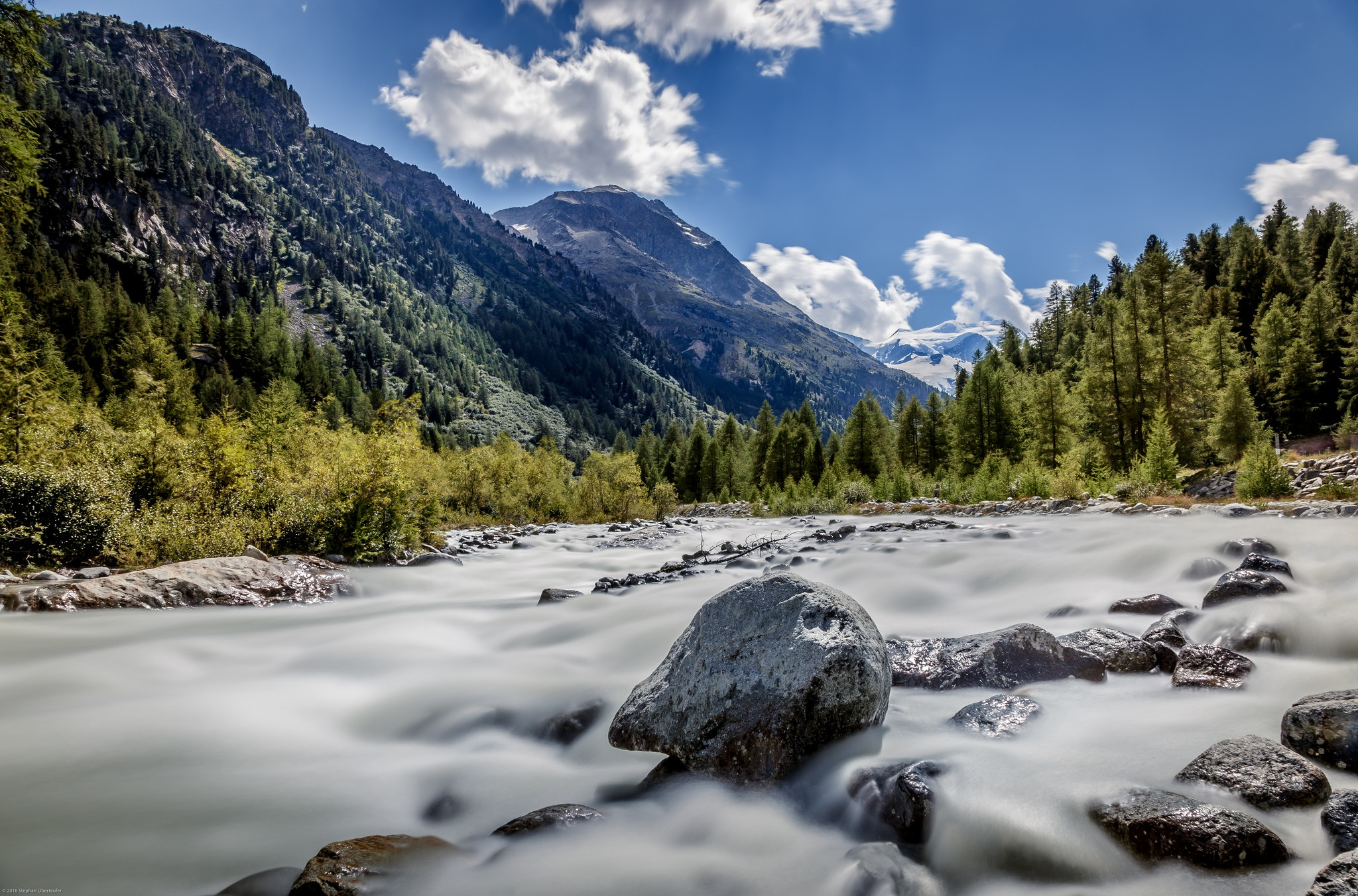 Piz Bernina, Moteratsch Glacier, Engadine, Switzerland  № 1473573 загрузить