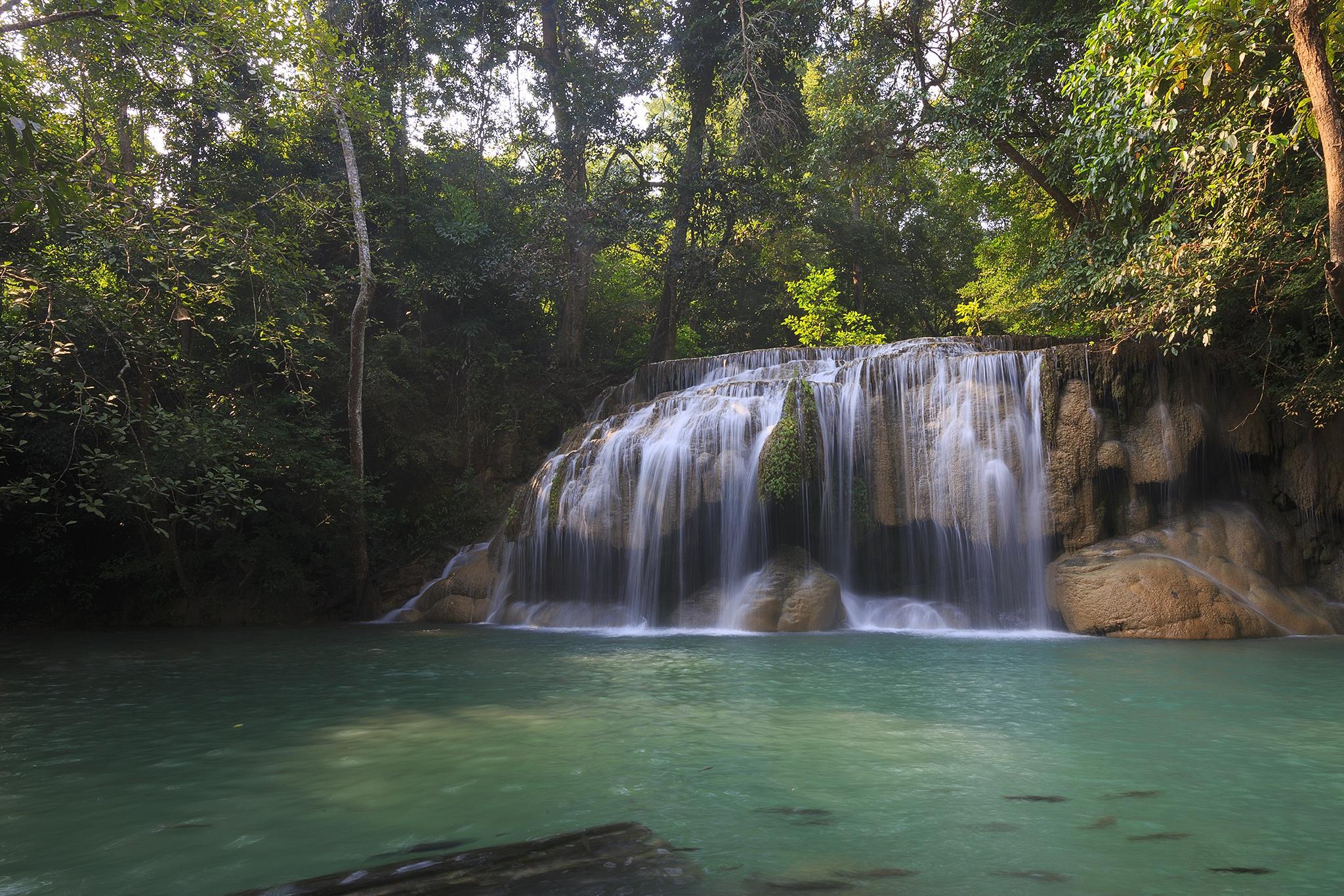 водопад водоем waterfall the pond  № 736663 без смс