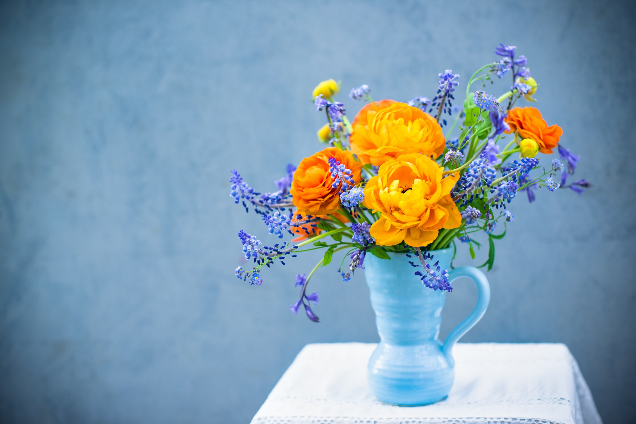 Обои на рабочий стол цветы букеты композиции