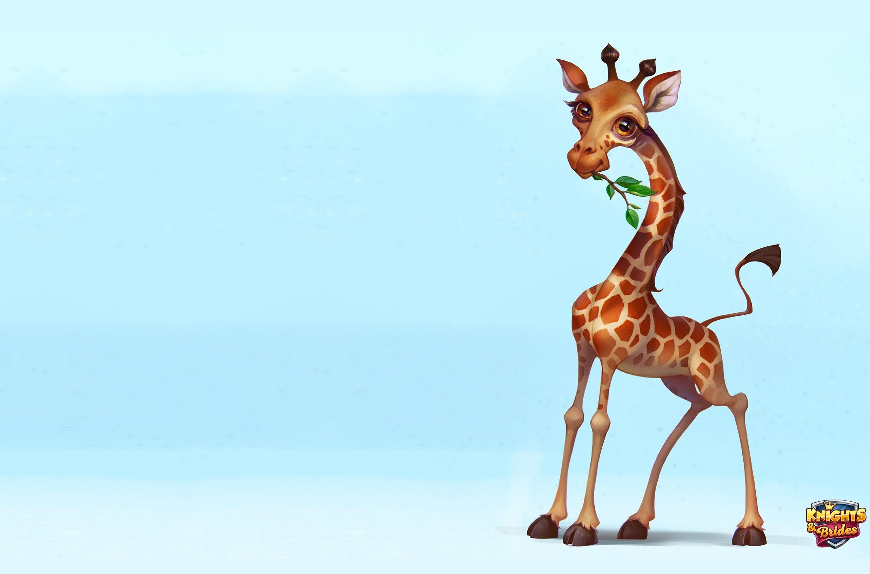 Анимации поздравлениями, смешной жираф рисунок