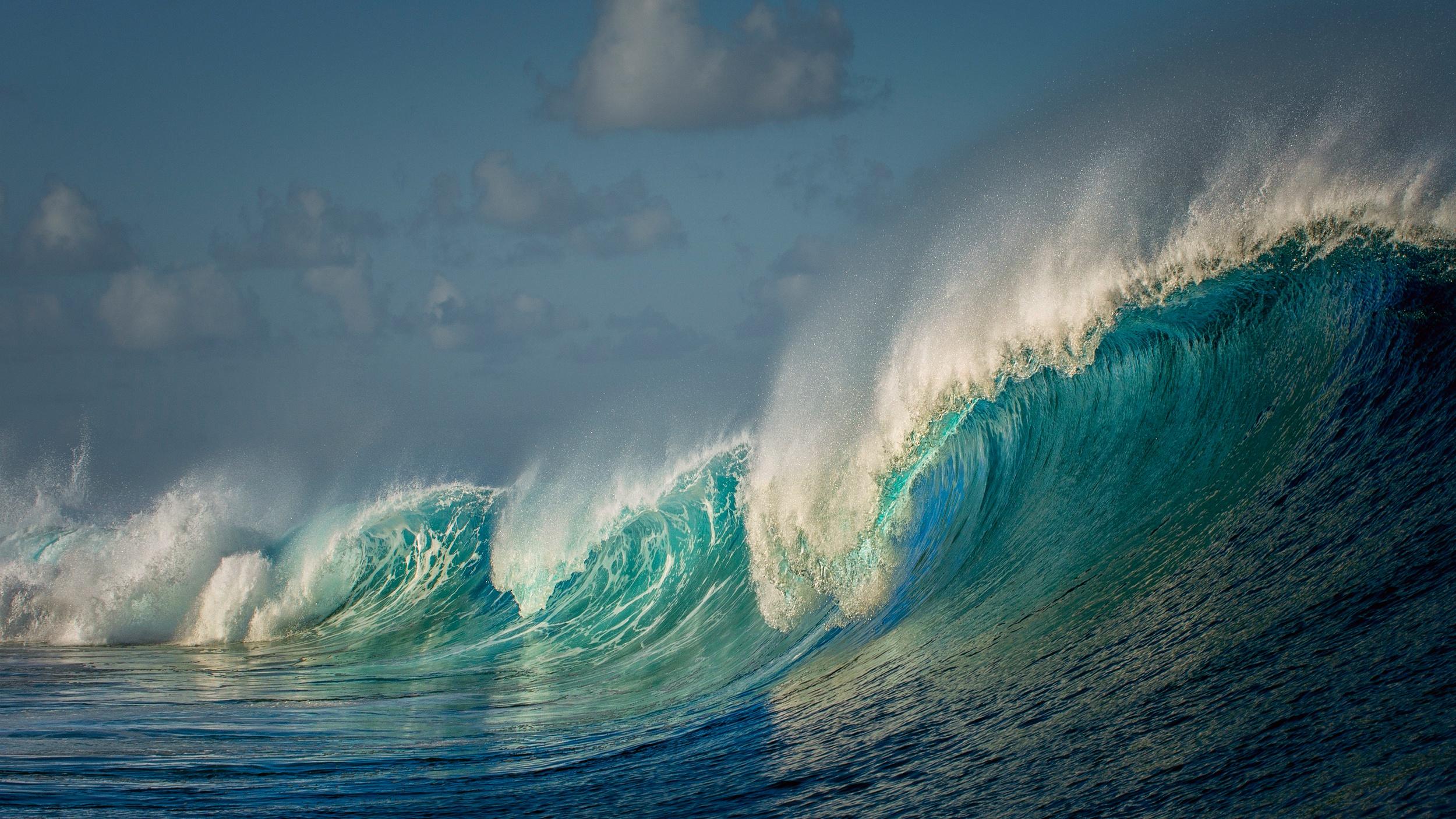 природа волна море вода nature wave sea water  № 739349 бесплатно