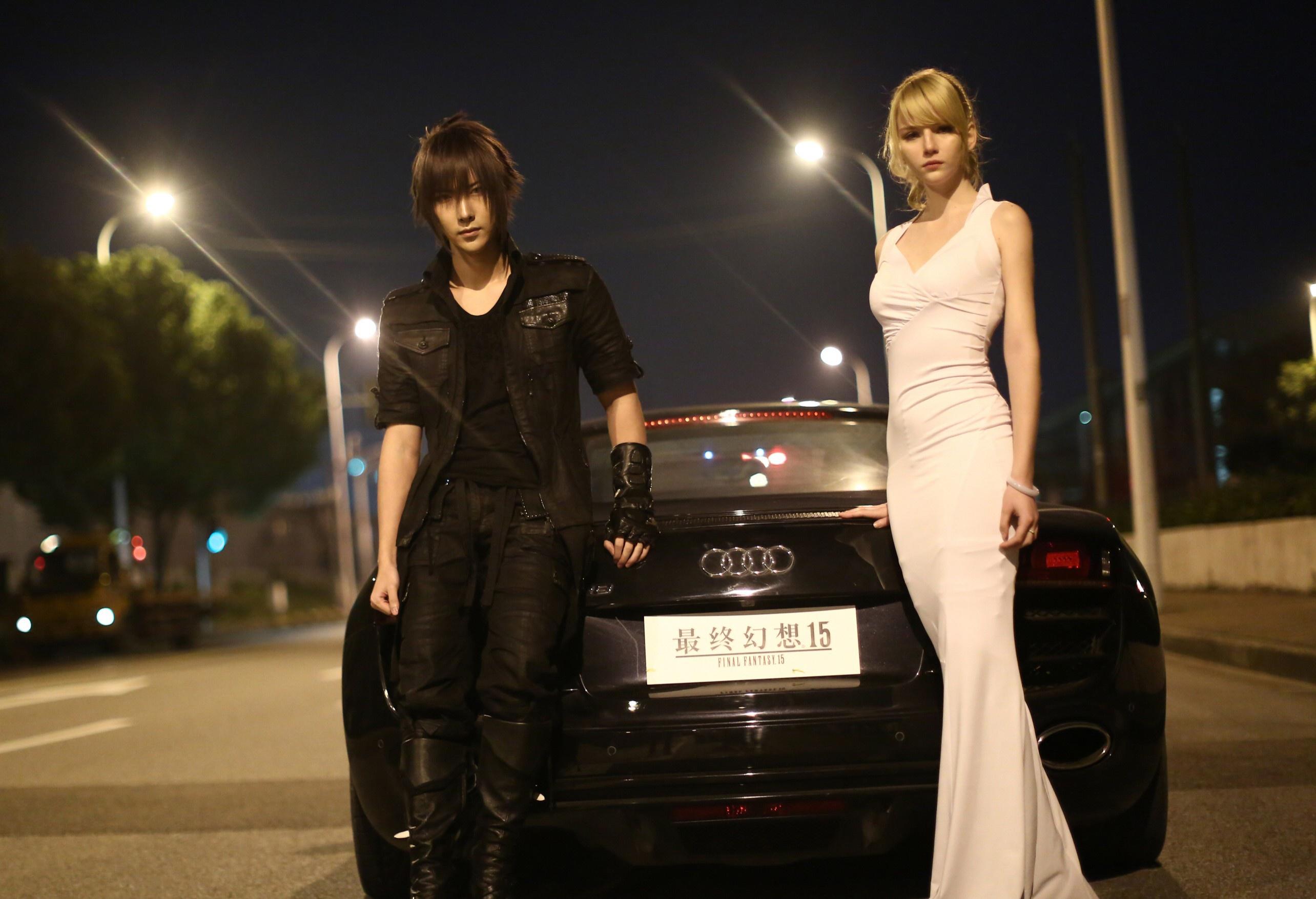 4k Noctis Lucis Caelum Final Fantasy Xv Hd Games 4k: Download Wallpaper Car, City, Lamborghini, Gallardo, Game