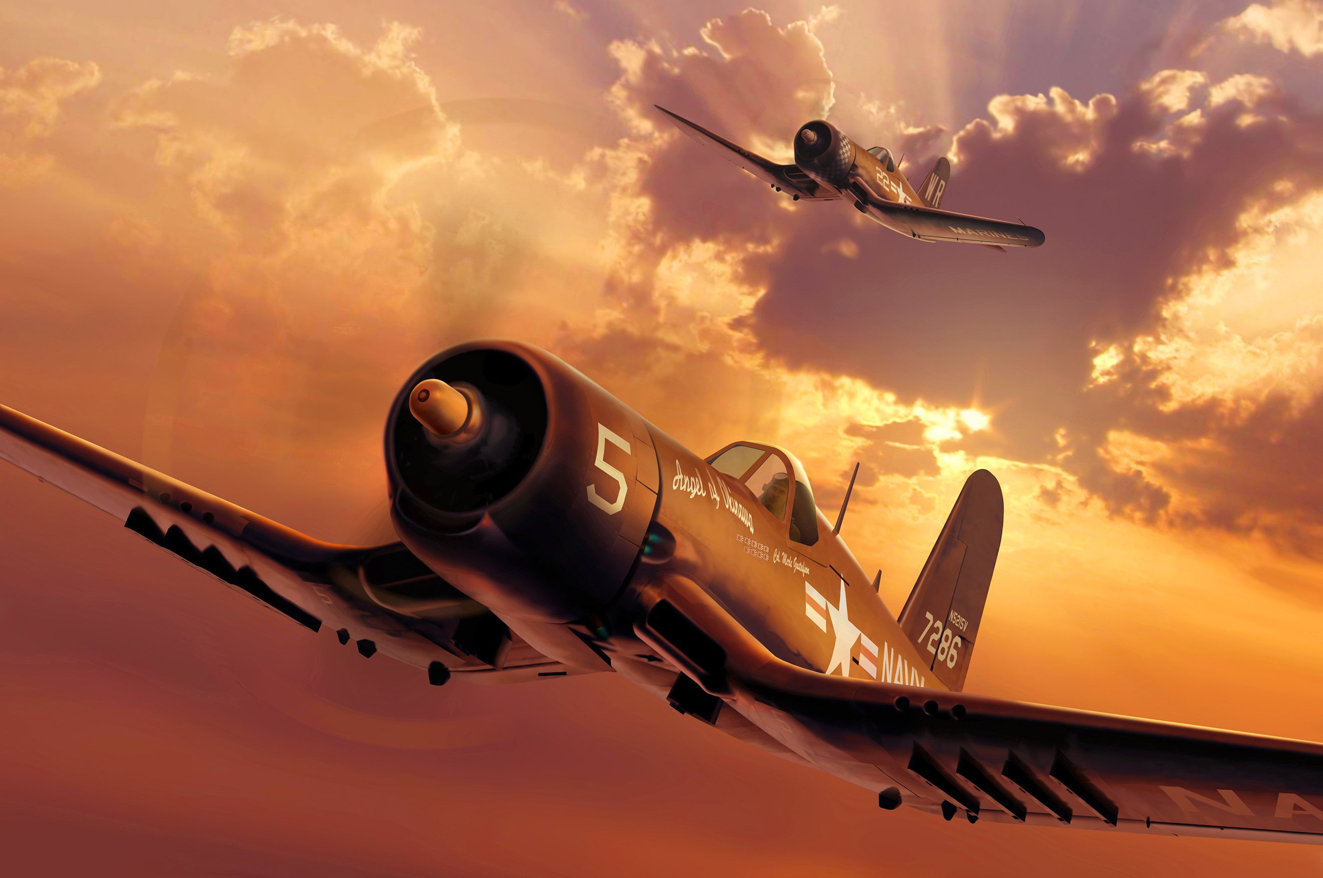 Chance Vought F4U Corsair  № 2361799 без смс