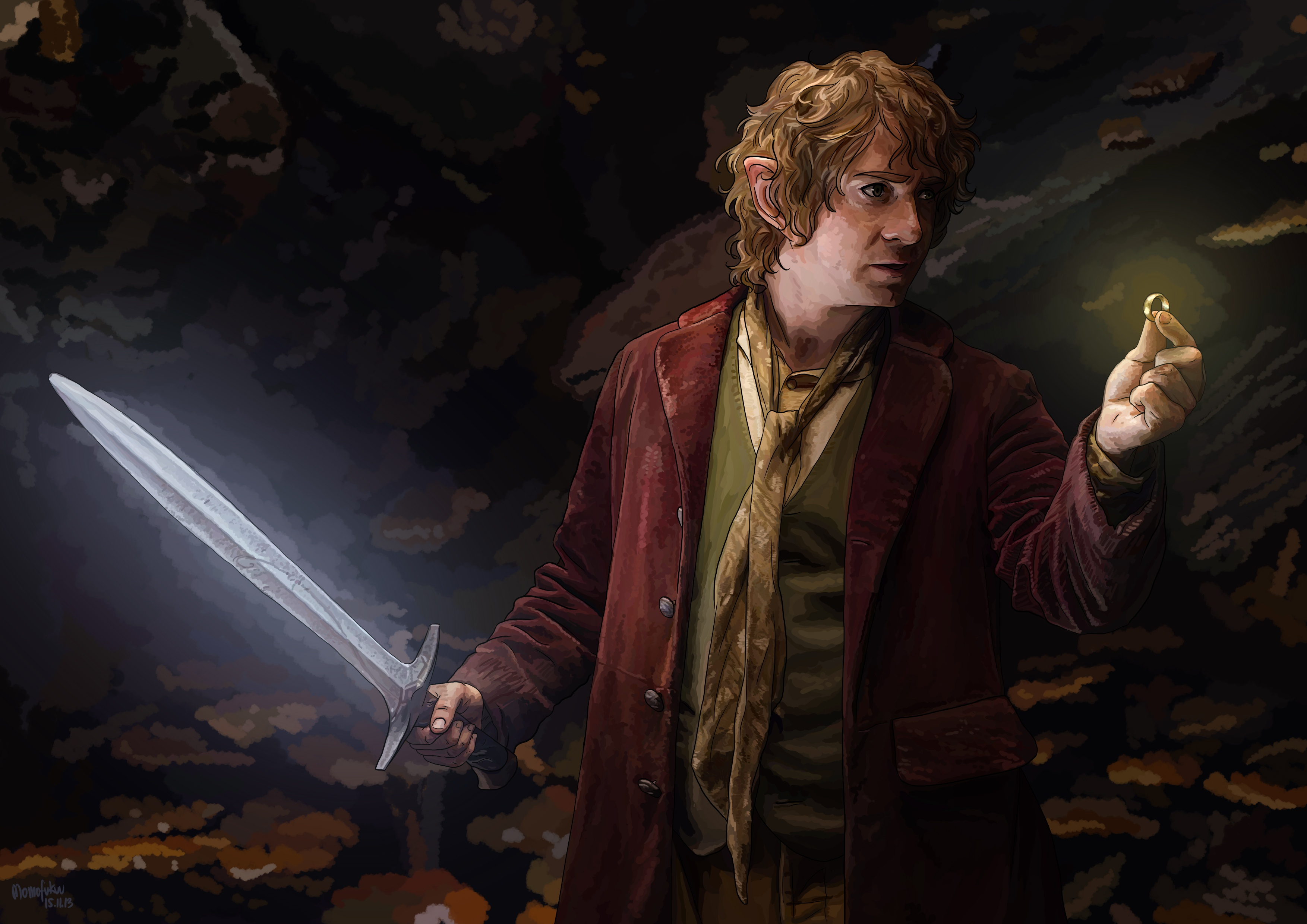 an analysis of the story about a hobbit bilbo baggins