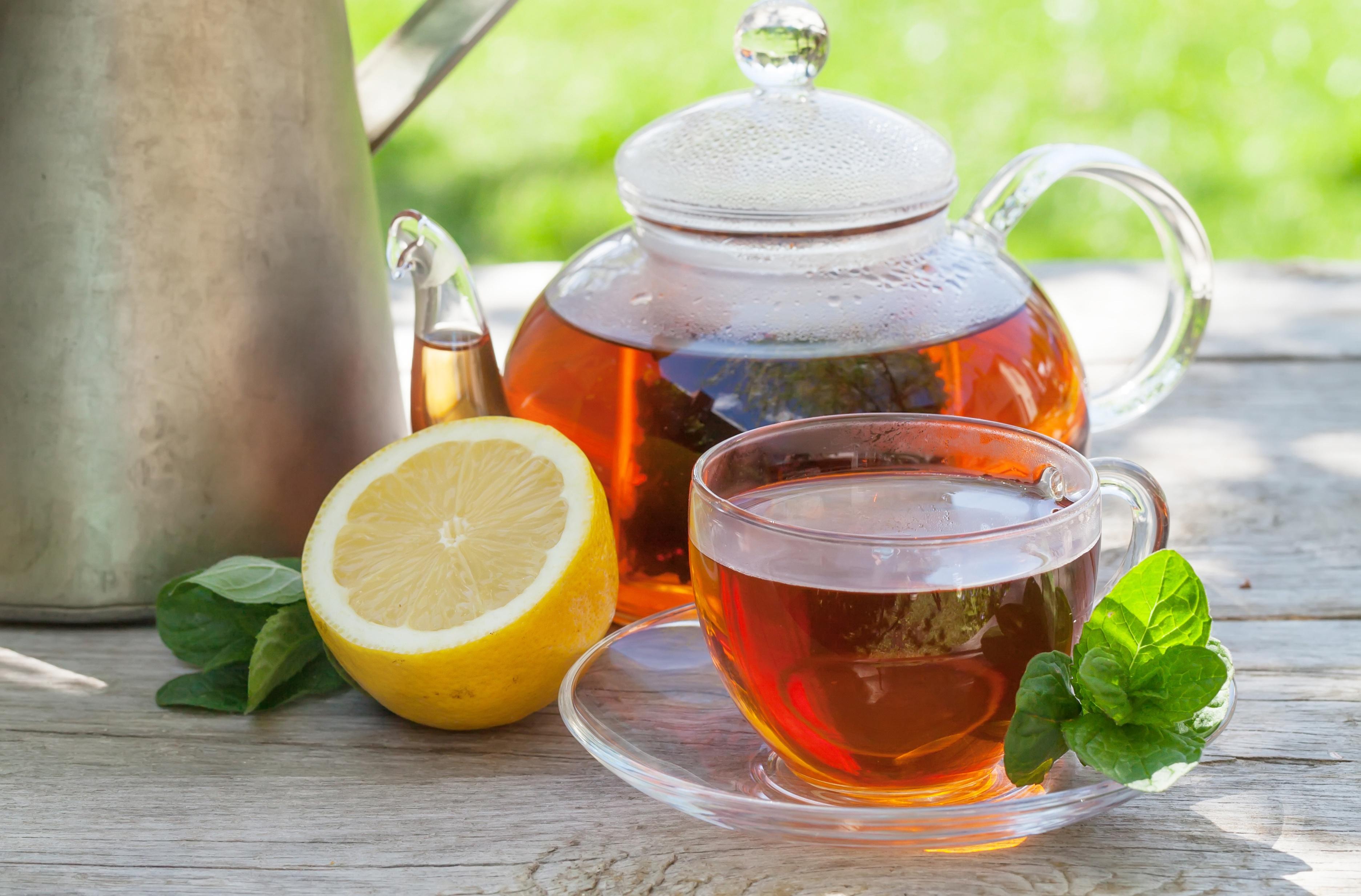 еда чай лимон мята eda tea lemon flicking  № 676110 бесплатно
