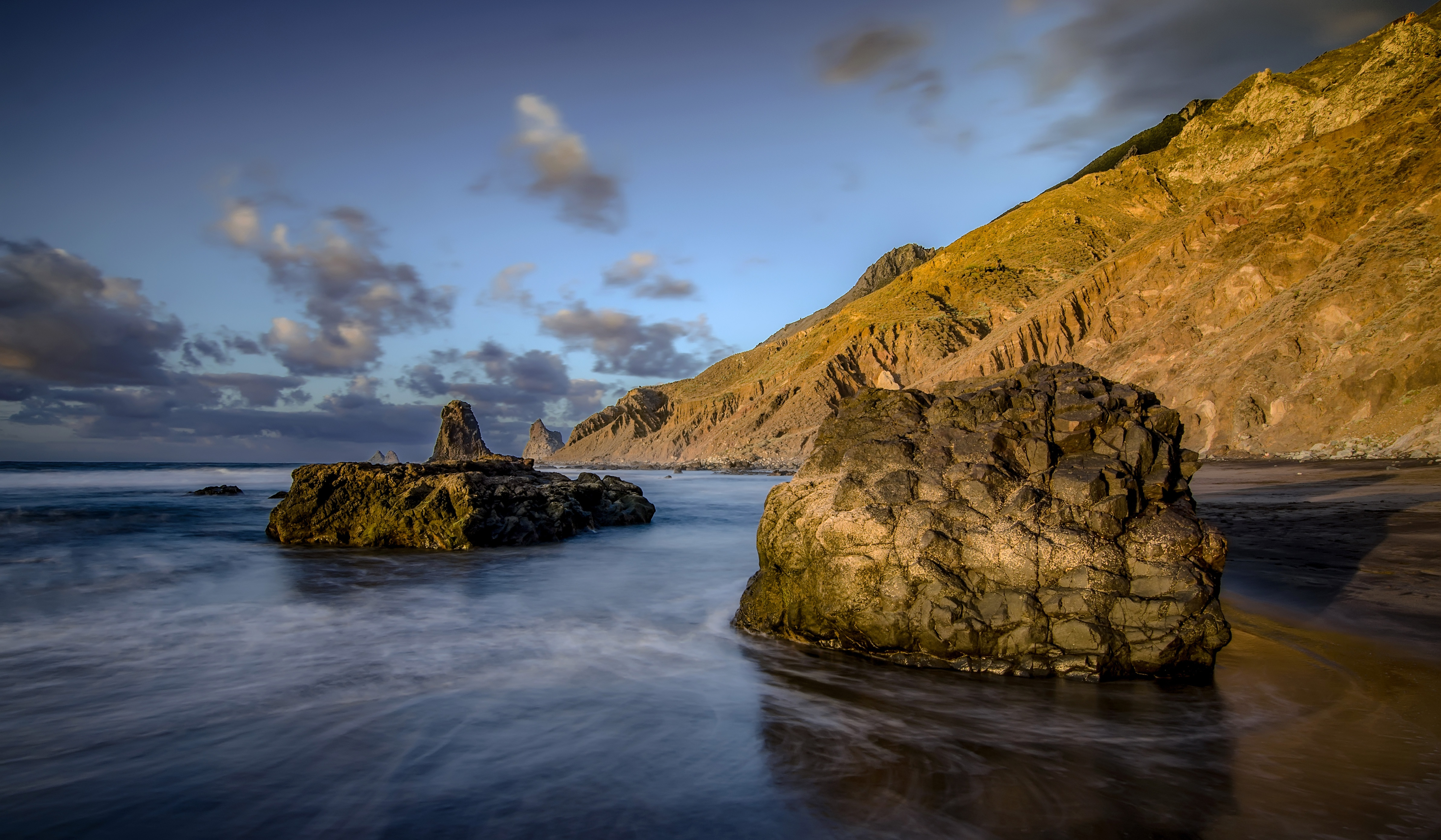 скала море камни rock sea stones  № 45210  скачать