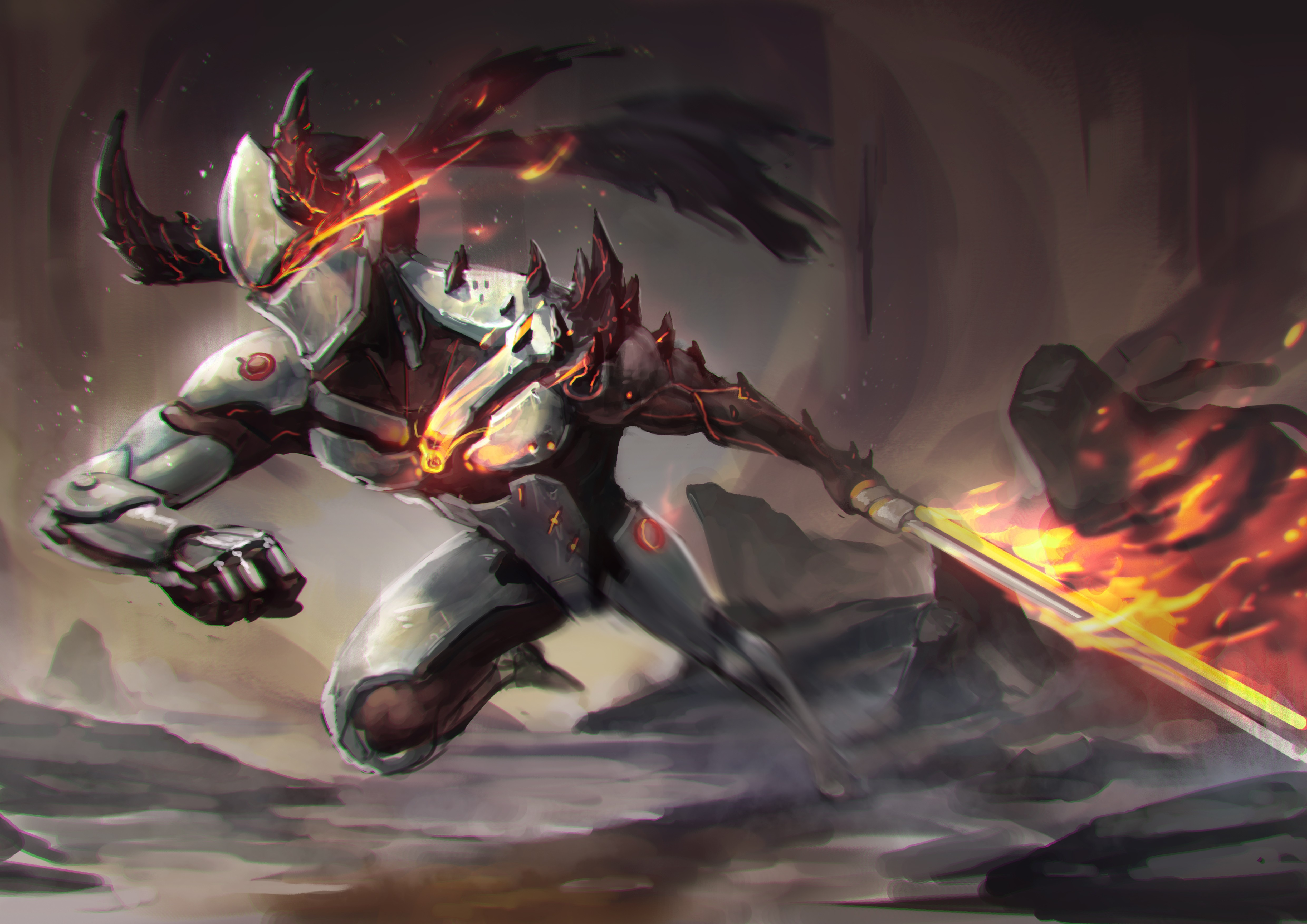 Download Wallpaper Fire Flame Sword Game Armor Mecha Weapon Man Ken Blade Dragon Ninja Asian Suit Shinobi God Section Games In Resolution 4961x3508 Then click the skip ad button at the top right of your screen. goodfon com