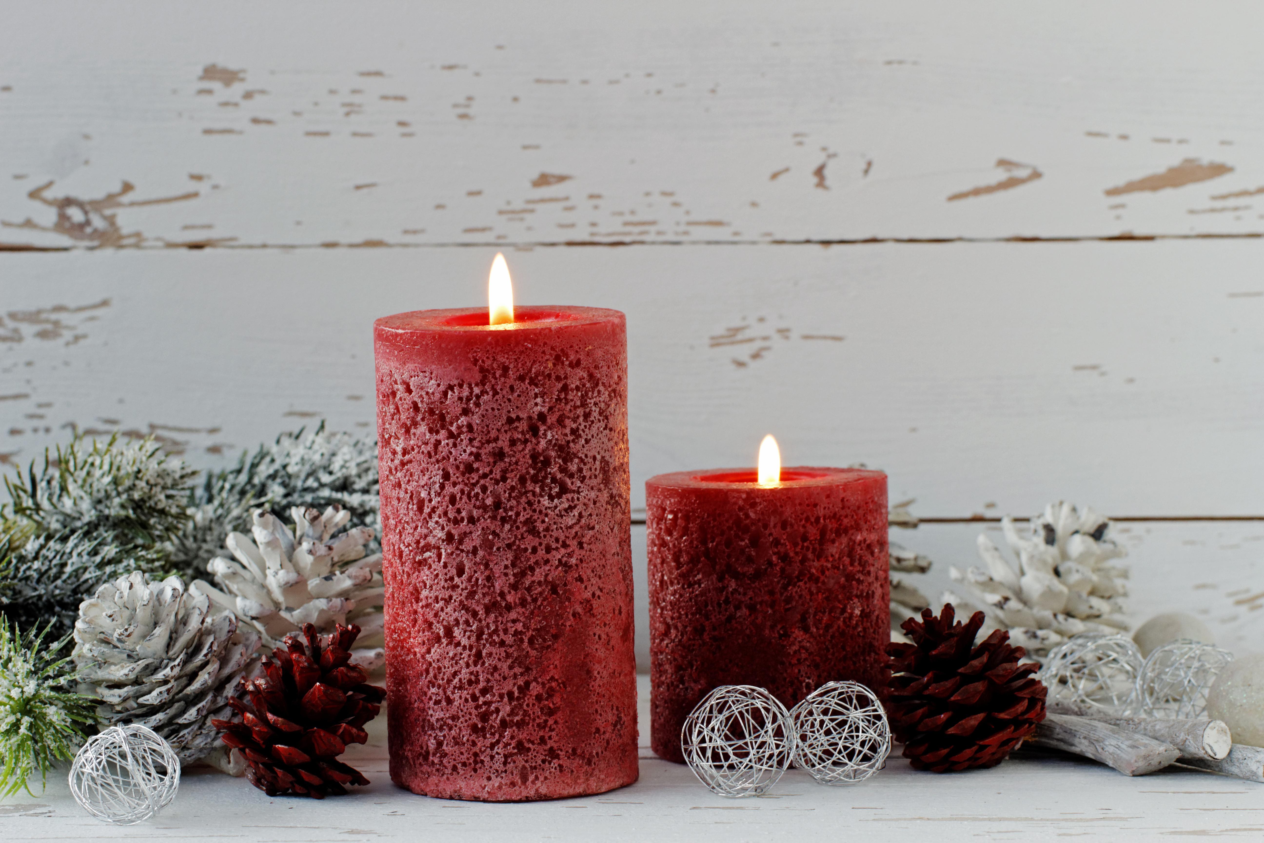 Свечи новый год  № 1395253 загрузить