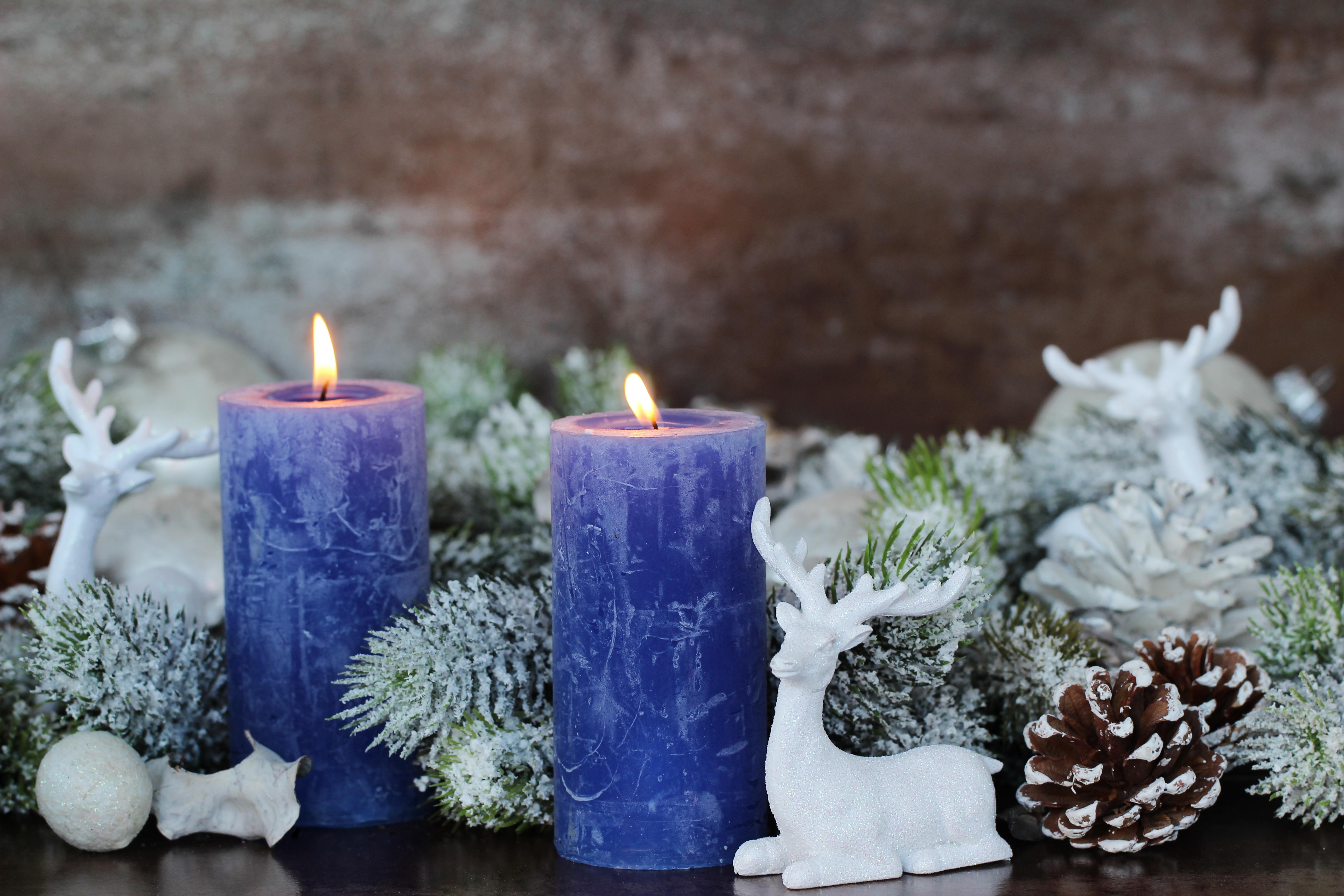 рождество новый год свечи  № 3334074  скачать