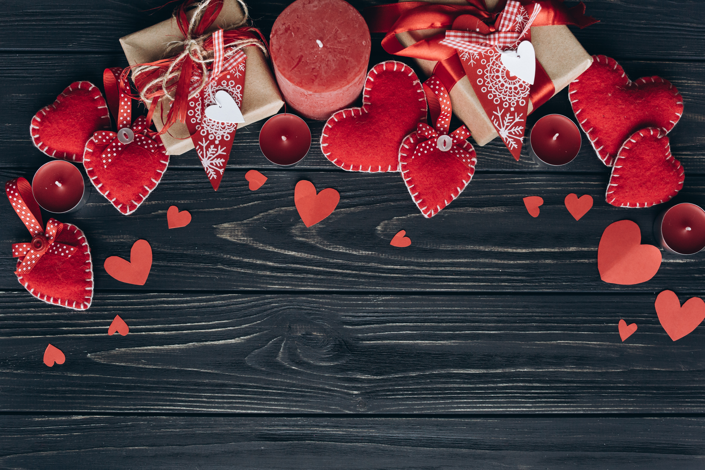 сердце свеча доски  № 3937839 бесплатно
