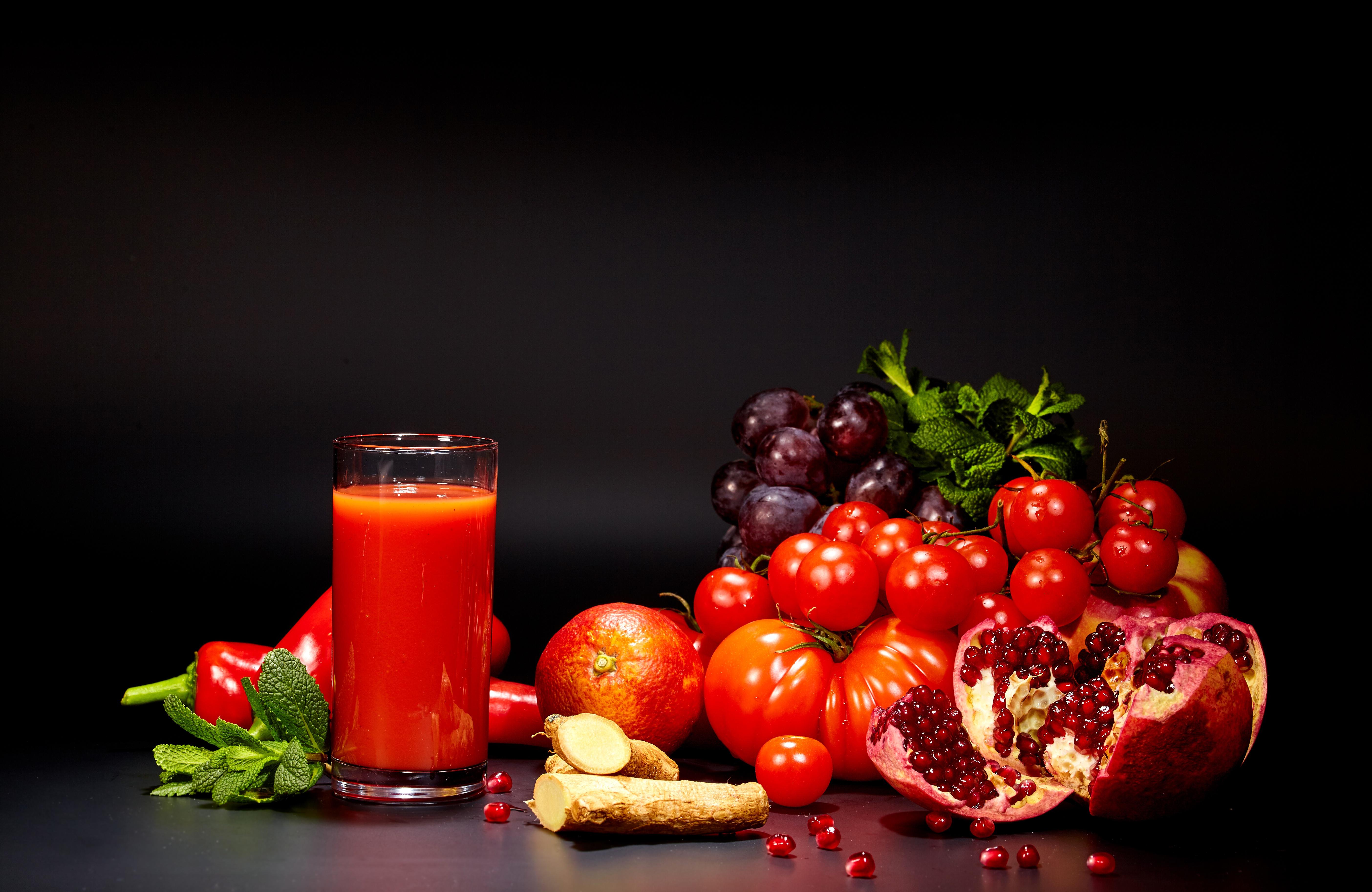 еда помидоры сок томатный ложка  № 2891461 бесплатно