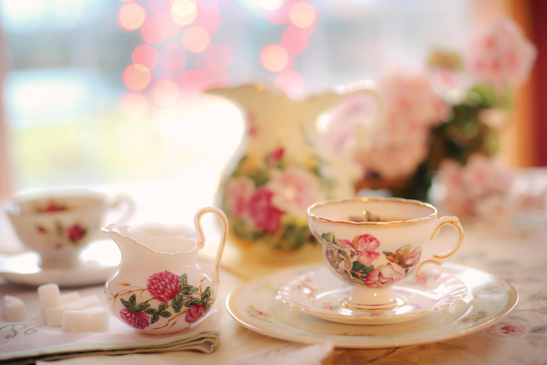 девушка лицо чаепитие girl face the tea party  № 1849765 бесплатно