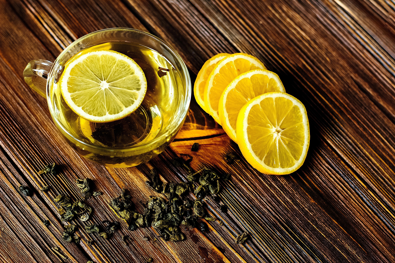 пирожные лимоны чай  № 3678335 загрузить