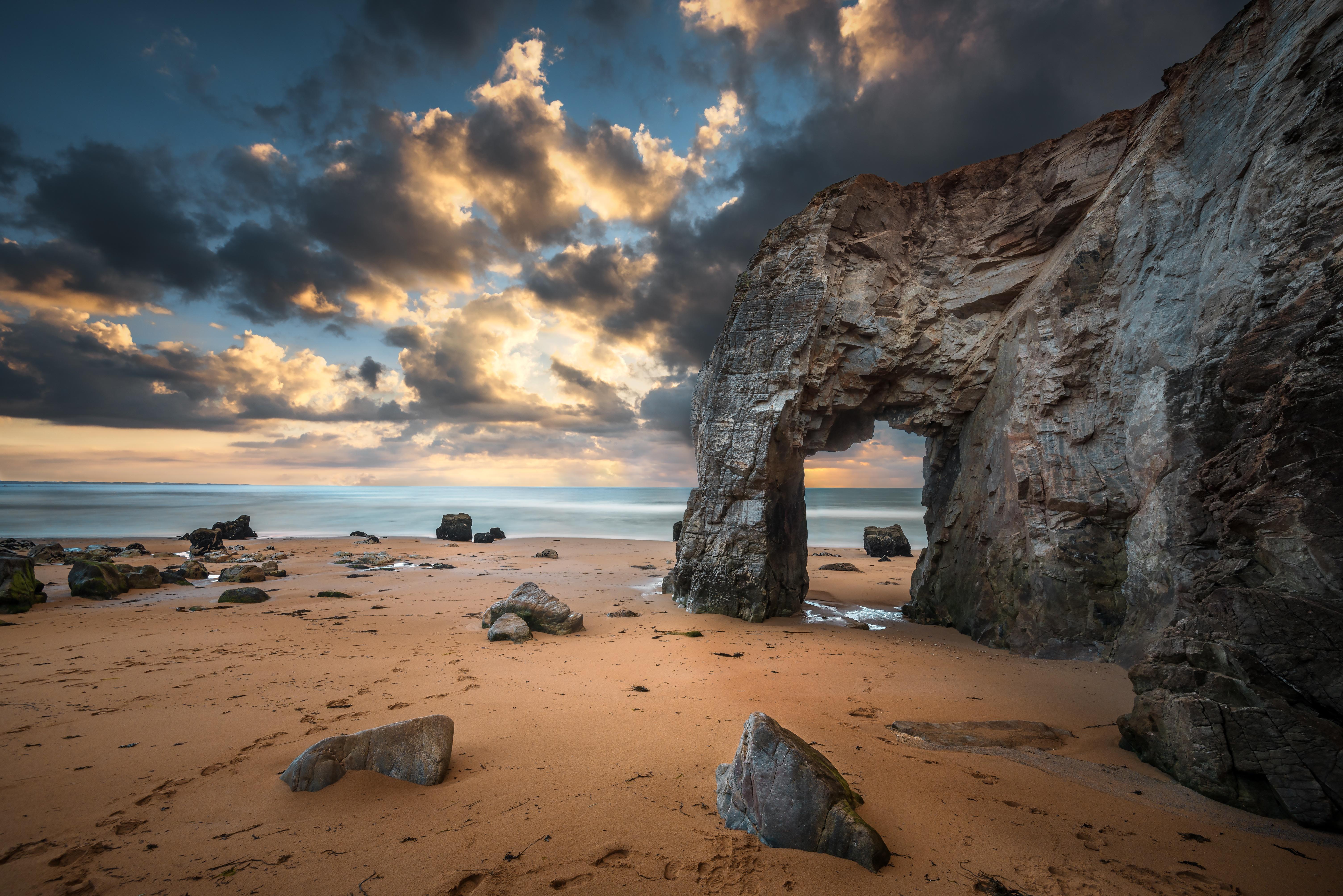 арка скалы море небо  № 2842029 без смс