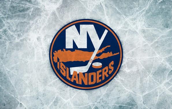 Picture ice, New York, emblem, NHL, NHL, New York Islanders, hockey club, New York Islanders