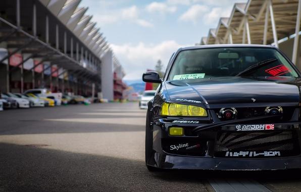 Picture Nissan, Skyline, speedhunters, Unite, R34s, photo Ron Celestine, Storm Fuji Speedway