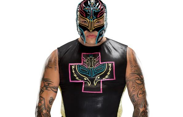 Picture mask, tattoo, tattoo, wrestler, Rey Mysterio, WWE, Rey Mysterio