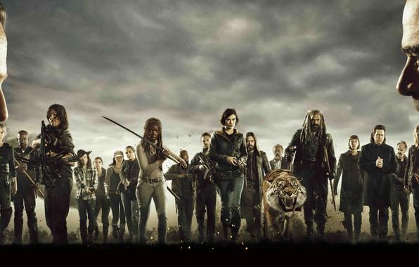 Picture The Walking Dead, AMC, Season 8