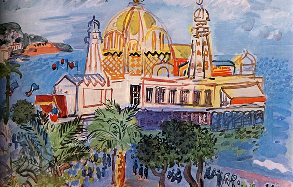 Picture New York, 1929, Huile sur Toile, Raoul Dufy, CollectionPeter A. RБbel, The casino of Nice, …