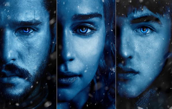 Picture A Song of Ice and Fire, Emilia Clarke, Daenerys Targaryen, Jon Snow, Bran Stark, Game …