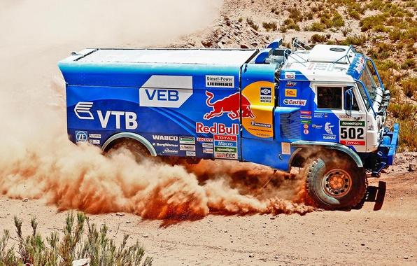Picture Sport, Truck, Race, Master, Kamaz, Dakar, Dakar, Rally, KAMAZ, 502, Master