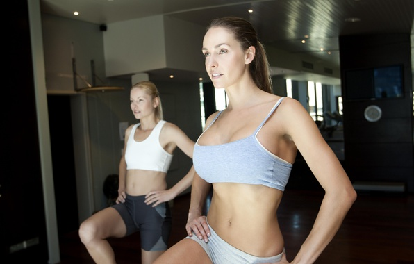 Picture women, Fitness, class, aerobics