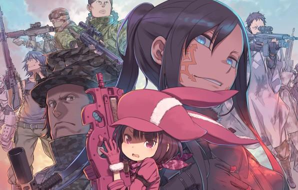 Picture Sword Art Online, Sword Art Online Alternative: Gun Gale Online, Alternative: Gun Gale Online