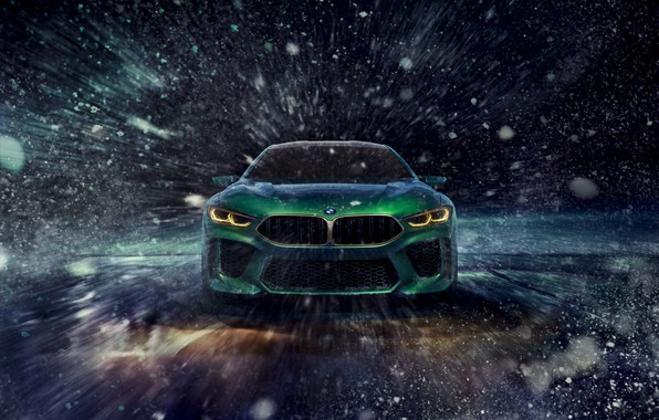 Picture winter, BMW