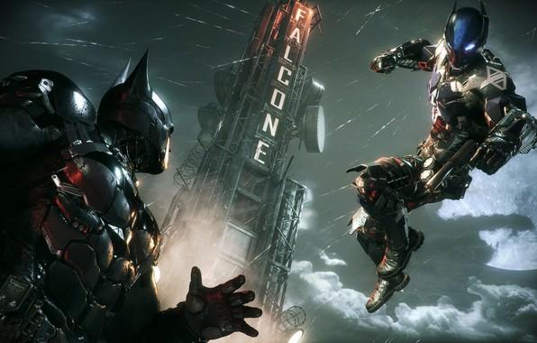 Picture The game, Rain, Battle, Batman, Costume, Fight, Hero, Mask, Superhero, Hero, Batman, Rain, Villain, Game, …