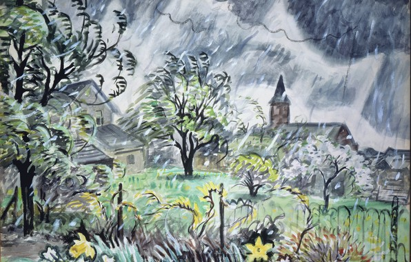 Picture 1948, Early Spring, Charles Ephraim Burchfield, (May)