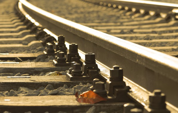 Picture background, railroad, sleepers