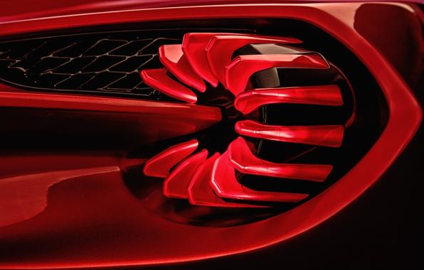 Picture Concept, Aston Martin, the concept, Aston Martin, Zagato, Vanquish, vankvish, taillight