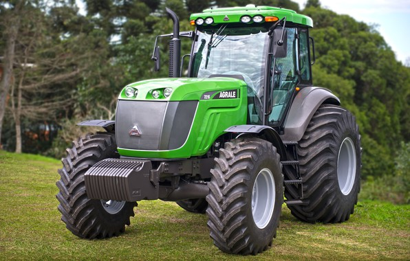Picture green, Brazil, tractor, made in Brazil, agricultural machinery, Agrale brand tractor, Agrale, Brazilian factory, gaucho …