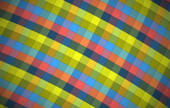 Picture Wallpaper, texture, squares, wallpaper, design, color, material