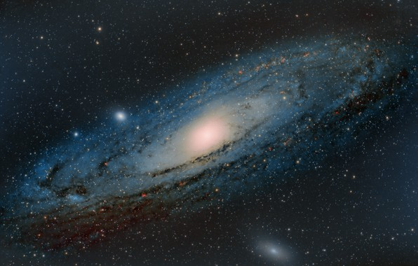 Picture Andromeda, Galaxy, m31