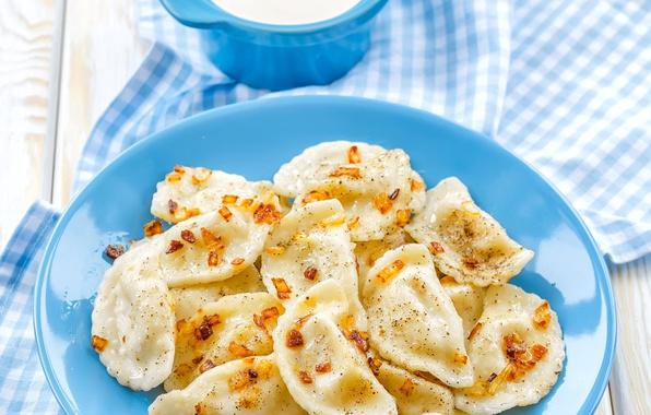 Picture Plate, Food, Dumplings