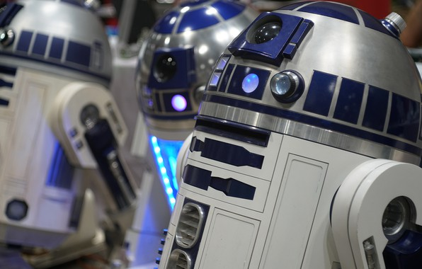 Picture robot, star wars, R2-D2