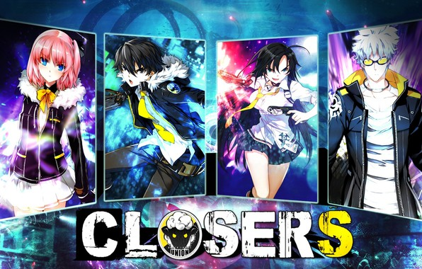 Picture girls, The game, Anime, guys, action, MMO, slasher, Closers