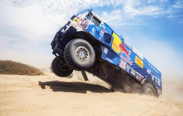 Picture Sand, Wheel, Sport, Speed, Truck, Race, Master, Russia, Kamaz, Rally, Dakar, KAMAZ-master, Dakar, Rally, KAMAZ, …