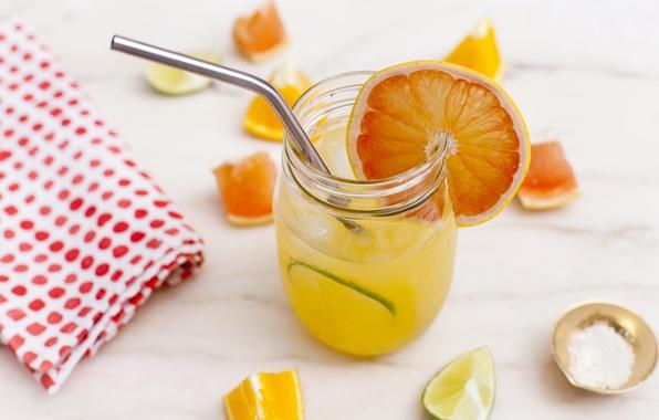 Picture orange, cocktail, lime, tube, citrus, drink, grapefruit, napkin