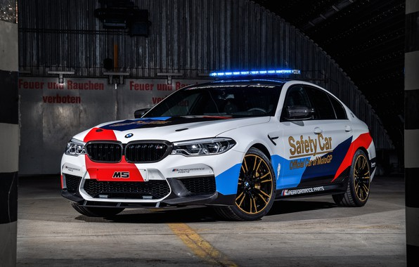 Picture MotoGP, 2018, flashers, Safety Car, BMW M5