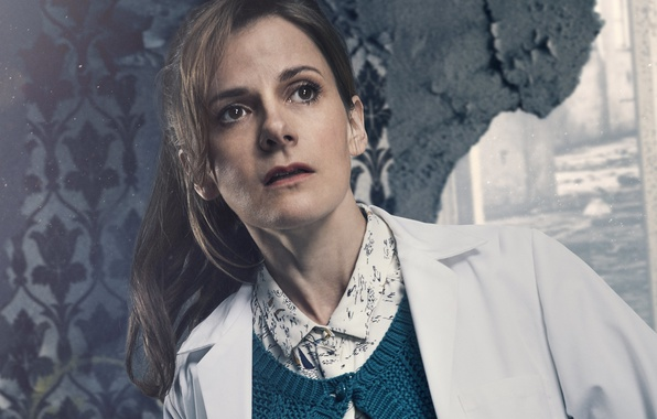 Picture the series, BBC, Sherlock, Sherlock, 2017, Louise Brealey, Molly Hooper, British actress and writer, Louise …