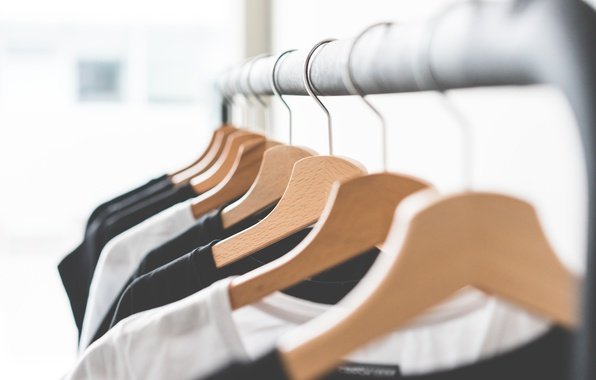 Picture clothing, t-shirt, hanger