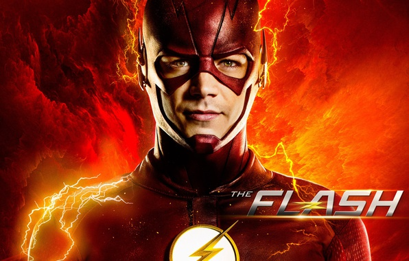 Photo Wallpaper Barry Allen The CW DC Comics Flash Grunt Gustin