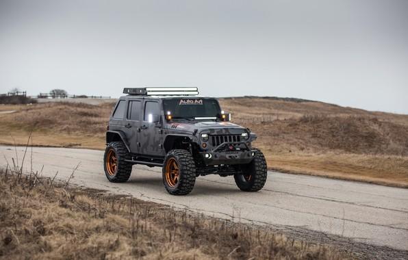 Picture Wrangler, Jeep, Unlimited, 4-door, 2015, 3.6L